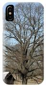 Snowcapped Tobacco Shed IPhone Case