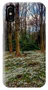 Snowdrop Woods 2 IPhone Case