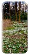 Snowdrop Woods IPhone Case