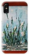 Snowdrops Spring IPhone Case
