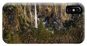 Snowfall Bridalveil Falls IPhone Case