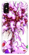 Snowy Bouquet IPhone Case