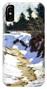 Snowy Ditch IPhone Case