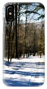 Snowy Drive IPhone Case