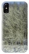 Snowy Landscape #f3 IPhone Case