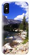 Snowy Mountain Lake IPhone Case
