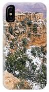 Snowy Pillar 2 - Grand Canyon IPhone Case