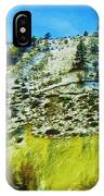 Snowy Rock Mountain IPhone Case