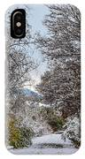Snowy Trail IPhone Case