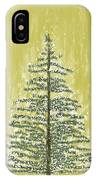 Snowy Tree IPhone Case