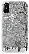 Snowy Treeline IPhone Case