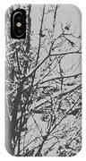 Snowy Trees IPhone Case