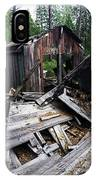 Soap Creek Debris, Real Estate Series IPhone Case