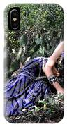 Sofia Of Ameynra. Cybergoth Belly Dancer IPhone Case