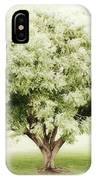 Soft Green Tree IPhone Case