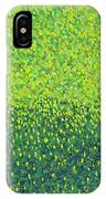 Soft Green Wet Trees IPhone Case