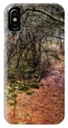 Soft Light In The Woods IPhone Case
