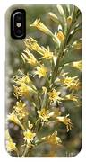 Soft Yellow Desert Flowers IPhone Case