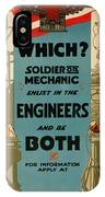 Soldiers Or Mechanic IPhone Case