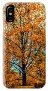 Solitary Fall IPhone Case