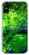 Solo Bench IPhone Case
