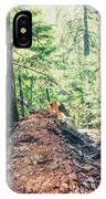 Somber Walk- IPhone Case by JD Mims