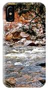 Swift River Along The Kancamagus IPhone Case