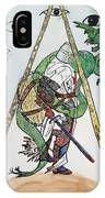 Sometimes The Dragon Wins IPhone Case