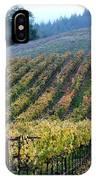 Sonoma County Vineyards Near Healdsburg IPhone Case