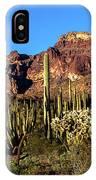 Sonoran Cacti Everywhere IPhone Case