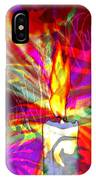 Sorcerer's Candle IPhone Case
