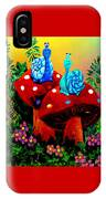Soupy Snails IPhone Case