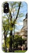 South Dakota Capitol Oil Painting IPhone Case