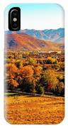 South Reno In Fall IPhone Case