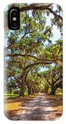 Southern Lane - Evergreen Plantation IPhone Case