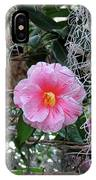 Southern Pink Camellia IPhone Case
