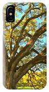 Southern Plantation Oak Trees IPhone Case