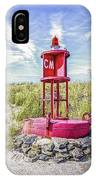 Southernmost Point Buoy- Cape May Nj IPhone Case
