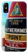 Southernmost Point IPhone Case