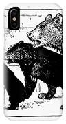 Southey: Three Bears, 1892 IPhone Case
