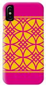 Southwestern Inspired With Border In Mustard IPhone Case
