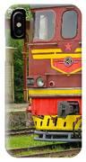 Soviet Era Train In Haapsalu Estonia IPhone Case