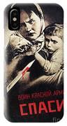 Soviet Poster, 1942 IPhone Case