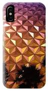 Spaceship Earth Shimmers IPhone Case