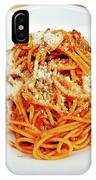 Spaghetti Bolognese IPhone Case
