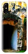 Spanish Fort Doorway IPhone Case