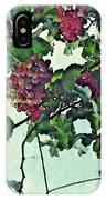 Spanish Grapes IPhone Case