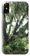 Spanish Moss In Motion IPhone Case