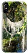 Spanish Moss Over The Swamp IPhone Case