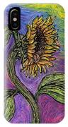 Spanish Sunflower IPhone Case